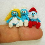 cartoon characters in miniature