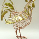 Beautiful recycled art by Barbara Franc