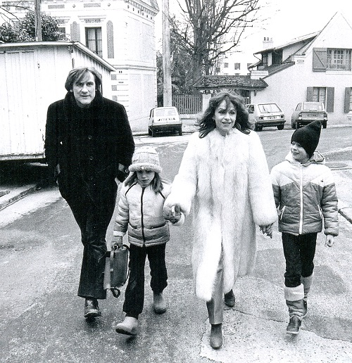 Gerard Depardieu and Elisabeth Guignot had long been considered a model family.