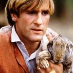 Gerard Depardieu and hare