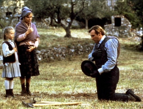 Gerard Depardieu and Elisabeth Guignot film