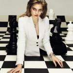 model Svetlana Zakharova, photo by Nikolay Biryukov Elle Russia