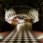 The Kungstradgarden station - Royal Garden