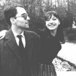 Anna and Jean-Luc Godard