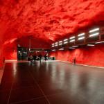The station Solna centrum