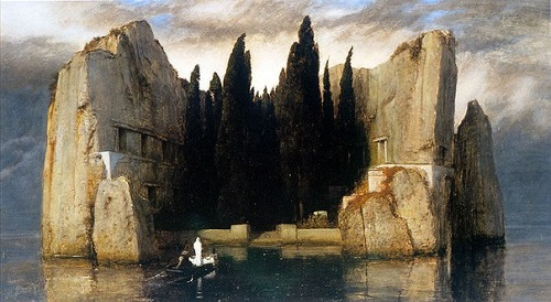 Arnold Bocklin 'Isle of the Dead'