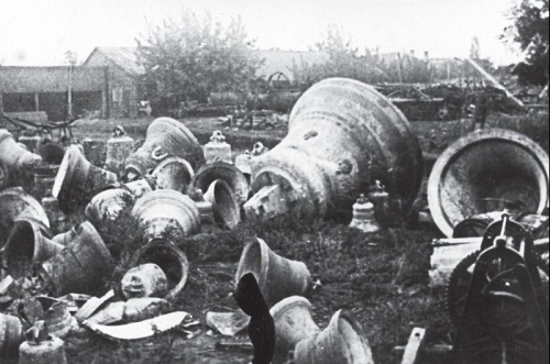 Discontinued church bells, Zaporozhye, 1931