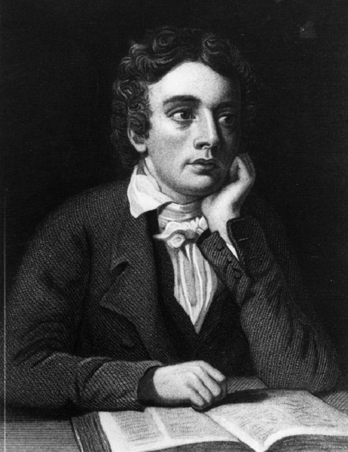 John Keats. Poet. Died in 1821, at age 25, from tuberculosis