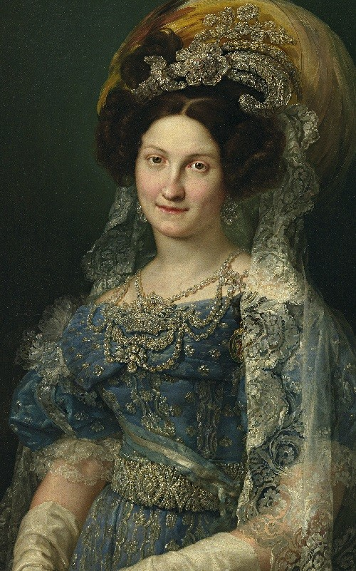 Maria Christina de Bourbon Princess of the Two Sicilies