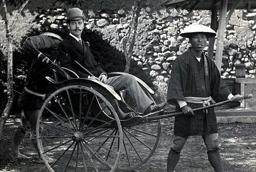 Nicholas Romanov in Japan, 1890