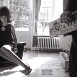 Olga Kurylenko Photographer Greg Williams, Vogue Italy, August 2008