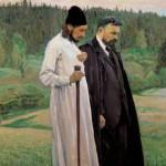 Philosophers (Bulgakov and P. A.Florensky). 1917