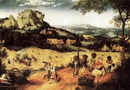 """Pieter Bruegel the Elder """"Mowing"""""""