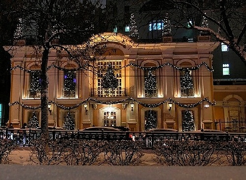Aristocratic restaurant Cafe Pushkin