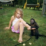 In fact, the girl has only recently begun to realize the fact that it is so easy and simple to communicate with all these animals, it is something unusual.