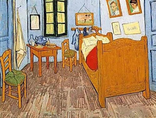 """Vincent Van Gogh """"Bedroom in Arles"""""""