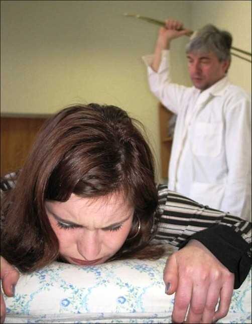 Medical spankings in Siberia