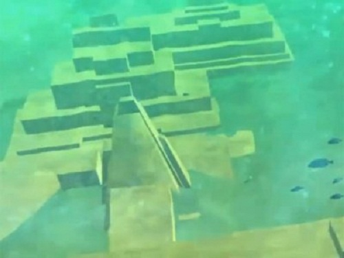 Ruins of the ancient city discovered by Paul Weinzweig and Pauline Zalitzki