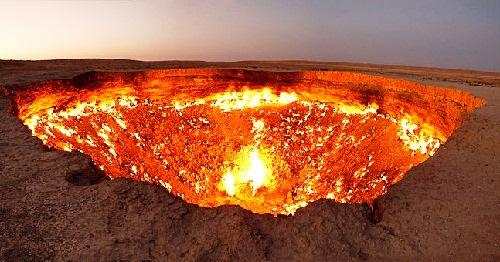 Turkmenistan Gates of Hell
