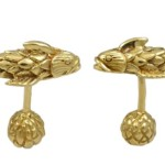 Cufflinks by Jean Schlumberger, 18K yellow gold, 1980