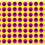 Kaleidoscope of colors in optical illusions by Professor Akiyoshi