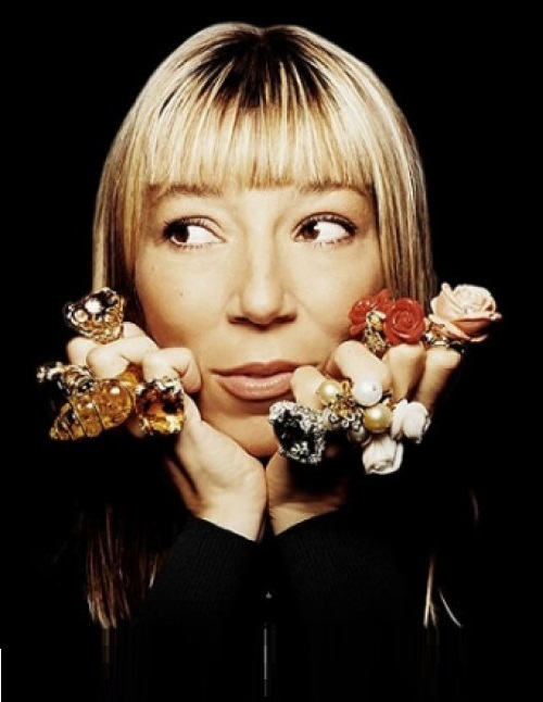 French jewellery designer Victoire de Castellane