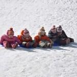 The five sisters - Elizaveta, Alexandra, Nadezhda, Tatiana and Varvara