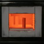 High temperature furnace at the factory Tanaka in the Japanese city of Kanagawa