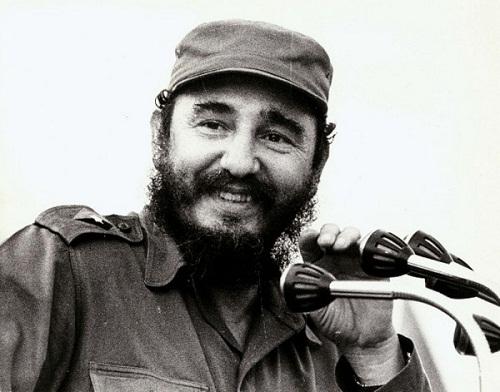 Fidel Castro 50 years ago