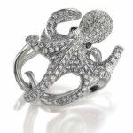 Ring by Scavia, 18K white gold and diamonds