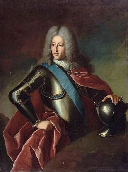 French Prince Louis-Henri de Bourbon