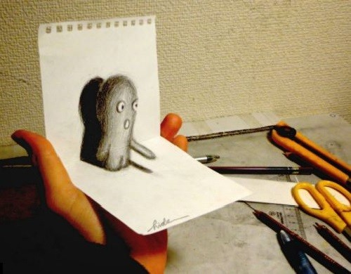 Optical illusions by Nagai Hideyuki