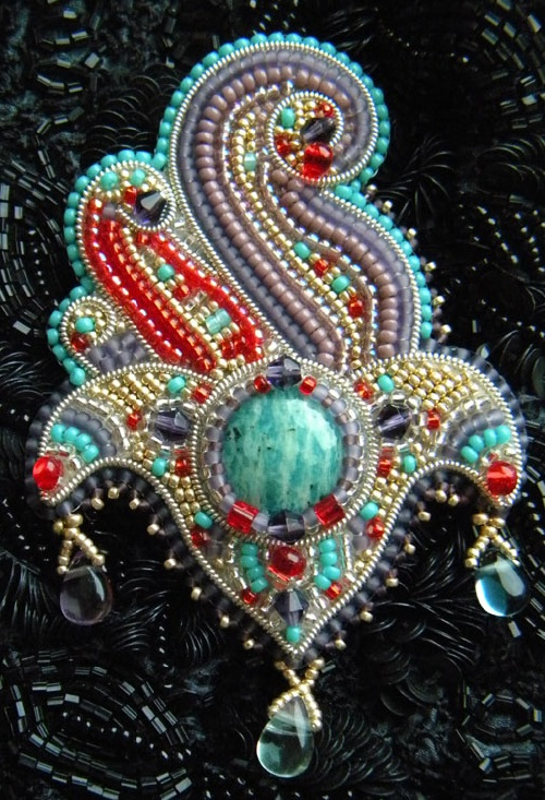 Russian beadwork artist and jeweler olga orlova beauty