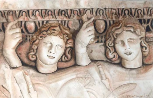 an analysis of greek mythology of castor and polydeuces Perhaps, it is easiest for modern readers to think of the ancient greek myths as   castor and pollux: (polydeuces), aka the gemini twins along with their sister.