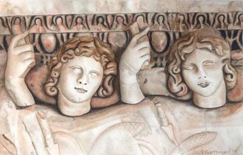 Greek mythology, fraternal twins Castor and Polydeuces