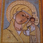 Golden needle sewing by Olga Orlova. Our Lady Of Kazan