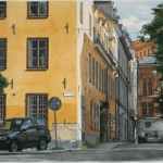 Hyperrealistic painting by Swedish artist Johannes Wessmark