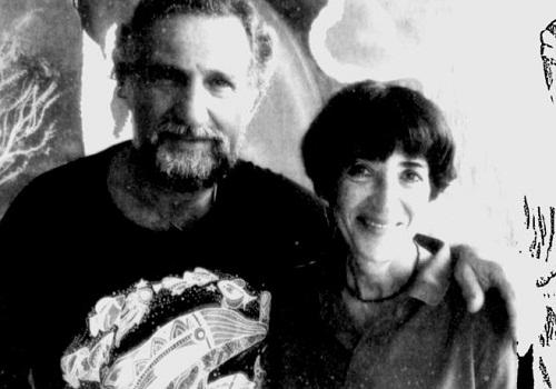 Pauline Zalitzki, um engenheiro naval, e seu marido, Paul Weinzweig