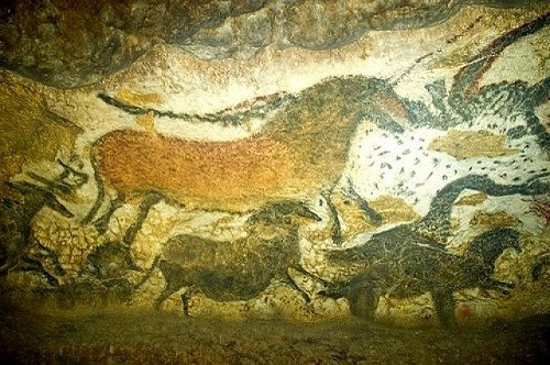 Prehistoric cave paintings