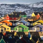 West Greenland. Illulissat - the city of icebergs.