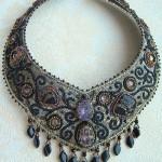 Beaded necklace by Olga Orlova