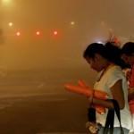 dust storm in Phoenix, Arizona