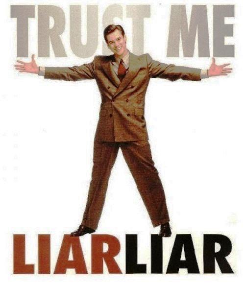 We are all liars. Liar Liar, 1997