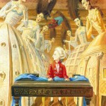 Mozart in paintings by Victoria Fomina