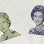 tribute to the Diamond jubilee of the British Queen, detail