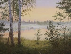 Landscape paintings by Russian artist Vladimir Alexandrov