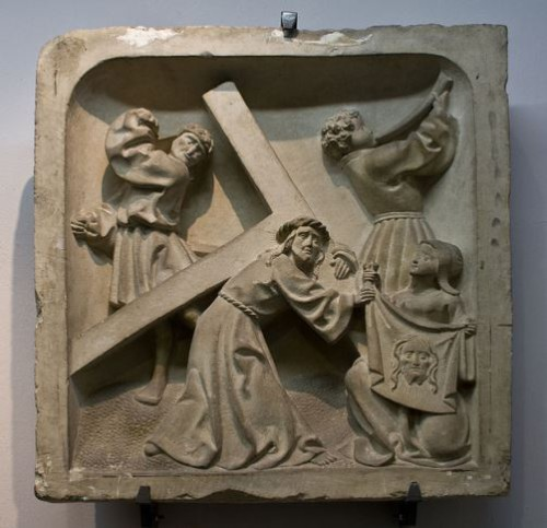 Secretos del Velo de la Verónica. Milagrosa  Kruiswegstaties, Westfalen, ca.  1530
