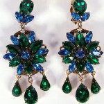 Vintage crown trifari austrian crystal necklace and earrings - Beauty Will Save The Beauty Of Trifari Jewelry Beauty