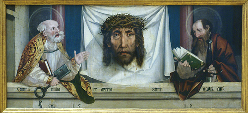 St. Peter and Paul with the veil of Veronica, 1518