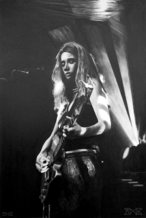 'Heather Nova on stage' by French artist Cloudmilk